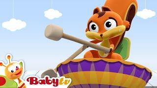 Video Animales haciendo percusión  - BabyTV Español MP3, 3GP, MP4, WEBM, AVI, FLV Juli 2018