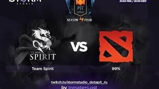 Spirit vs 99%, game 1