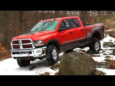 The 2015 Dodge Ram Power Wagon Off-Roading | SuperCars Show