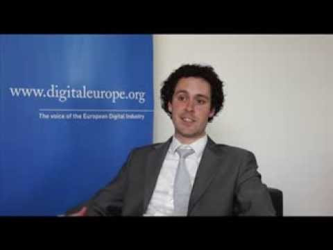 Watch a video called 'Cyber safe with DIGITALEUROPE'