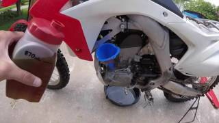 10. 2014 CRF250R Maintenance