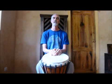 Djembe Solo Techniques: basic 4/4 rolls