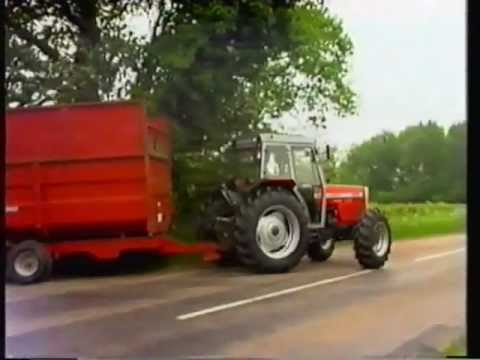 mf - MF 300 SERIES GEARED FOR EFFICIENCY GEARED FOR SUCCES - a factory video from 1989 -