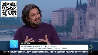 Brüsszelben tüntet a magyar ellenzék hazája ellen – Deutsch Tamás – ECHO TV