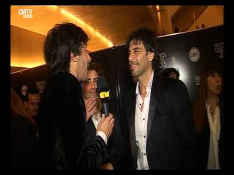 Juan Darthés video Entrevista CM - Premios Gardel 2015