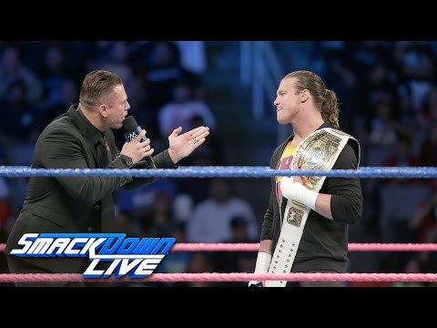 The Miz mourns the death of the Intercontinental Championship: SmackDown LIVE, Oct. 11, 2016 (видео)