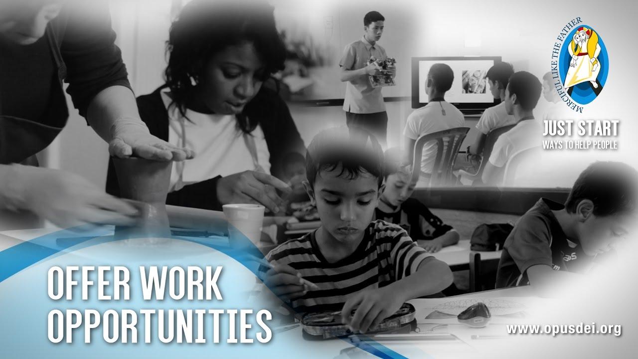 Basta cominciare (9): Offrire un futuro lavorativo