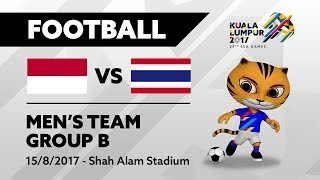 Video KL2017 29th SEA Games | Football - INA 🇮🇩 vs THA 🇹🇭 MP3, 3GP, MP4, WEBM, AVI, FLV Maret 2018