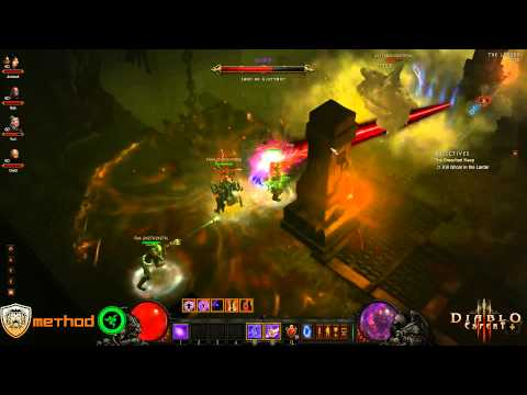 Diablo 3 - Ghom (Inferno) Kill Video World First Video