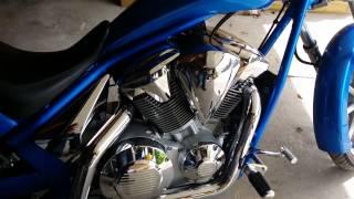 10. 2012 honda fury blue with extras