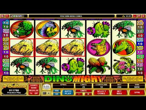 Jurrasic Park - Dino Might Video Slot Machine Game at 7 Sultans Casino
