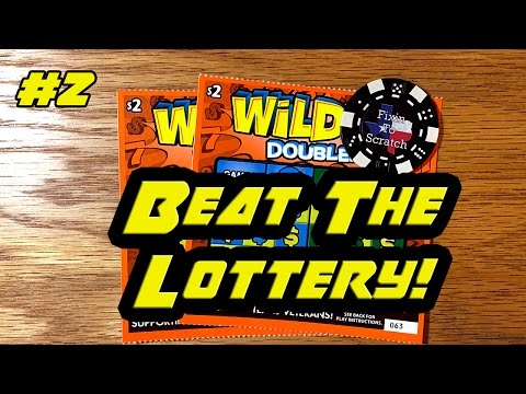 Beat The Lottery! Episode 2 - $2 Wild 7's Doubler
