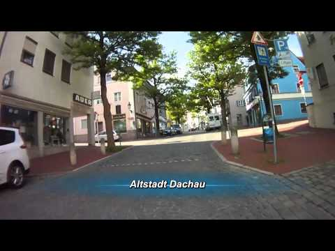 dachau - Motorradtour Dachau / Altstadt Aufgenommen mit 4 Contour HD 1080p Kameras. Wunderbare Panorama Bilder in HD Qualitt mit 59 Bildern in der Sekunde. Das Video...