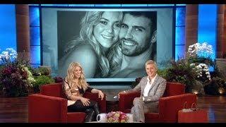 Shakira at Ellen DeGeneres Show