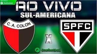 Colón x São Paulo Ao Vivo HD | Copa Sul-Americana 2018 | Segunda Fase | 16/08/2018