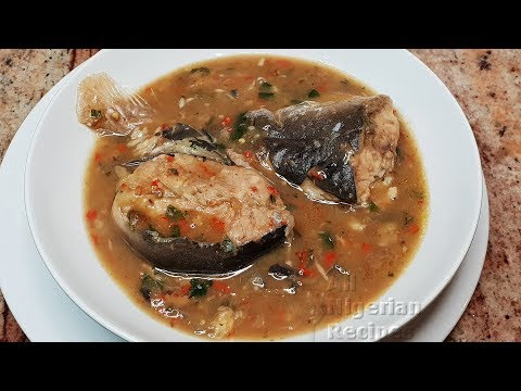 HOW TO COOK OFE NSALA: THE NIGERIAN SOUP FOR GOOD IN-LAWS | Flo Chinyere