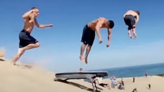 Video PEOPLE ARE AWESOME: BEST TRAMPOLINE TRICKS EDITION MP3, 3GP, MP4, WEBM, AVI, FLV Mei 2018