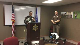 VIDEO: Wisconsin Sheriff Uses New Drone to Search for Missing Hunter