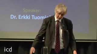 Erkki Tuomioja, Finnish Foreign Minister