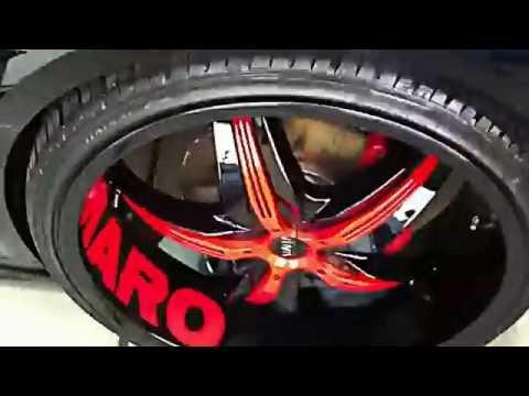 Best Lookin 2010 Camaro on 24's