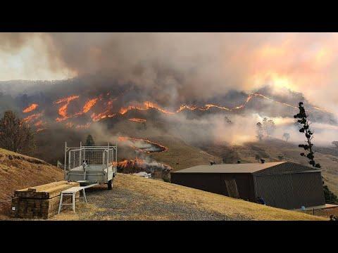 Buschbrände kommen in Australien früher als erwartet
