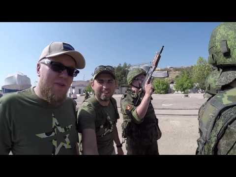 Американец в российской армии - Большой тест-драйв на флоте - DomaVideo.Ru