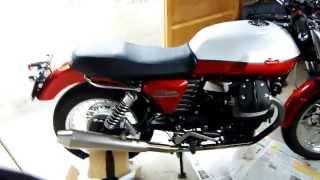 9. moto guzzi v7 oil change