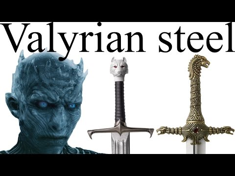 The Stories of the Various Valyrian Steel Swords in Game of
