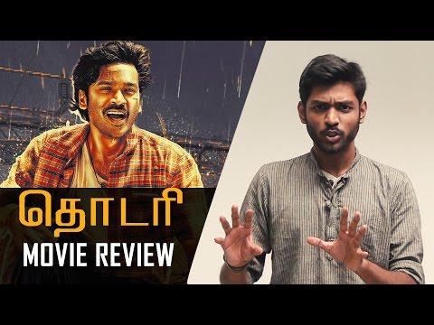 Thodari-Movie-Review-Dhanush-Keerthy-Suresh