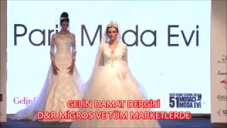 Paris Moda 2016 Gelinlik Defilesi - 51 Moda Evi - Gelin Damat Fashion Day 2016