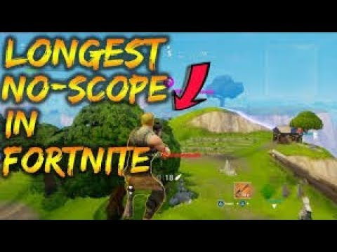 World Record longest no scope in Fortnite on Xbox
