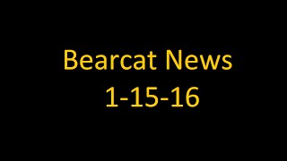 9. Bearcat News January 15th, 2016
