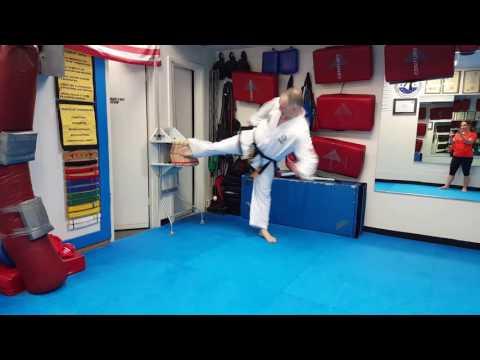 9 board break with side kick 11/16/16