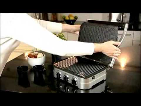 Cuisinart GR4U Griddle Contact Grill & Panini Press