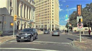 San Antonio (TX) United States  City pictures : Driving Downtown - San Antonio Texas USA