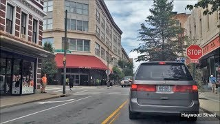 Asheville (NC) United States  City new picture : Driving Downtown - Asheville North Carolina USA