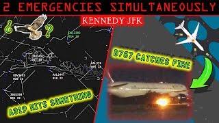 Video [REAL ATC] JFK airport has TWO SIMULTANEOUS EMERGENCIES! MP3, 3GP, MP4, WEBM, AVI, FLV Agustus 2019