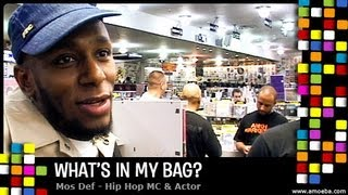 Mos Def - What's In My Bag?