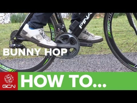 how to do a bunny hop - Knowing how to bunnyhop is something that all discerning riders should know how to do, so let GCN show you. Subscribe to GCN: http://gcn.eu/gcnsubs Martyn As...