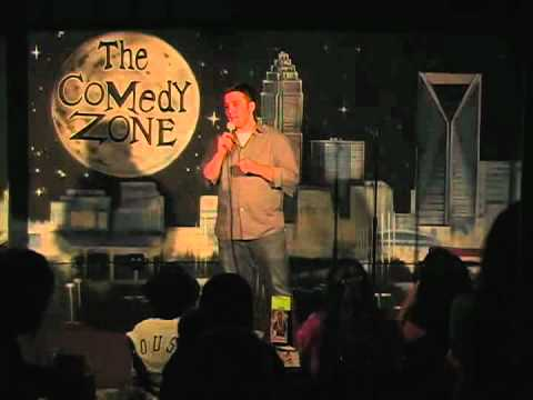 Alex Kaupp on 7-30-12 at Graduation Night for The Comedy Zone Comedy School