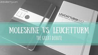 Download Lagu Moleskine vs  Leuchtturm1917   The Great Debate Mp3