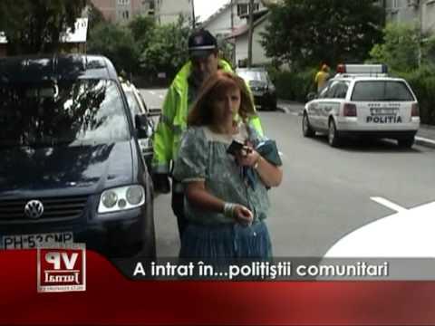 A intrat în… poliţiştii comunitari