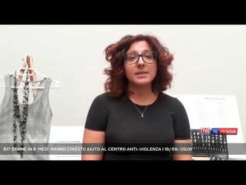 617 DONNE IN 8  MESI  HANNO CHIESTO AIUTO AL CENTRO ANTI-VIOLENZA | 18/09/2020
