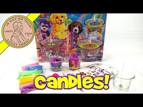 Lisa Frank Candle Craze Maker Kit, LPS-Dave Makes Candles!