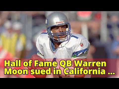 Hall of Fame QB Warren Moon sued in California for sexual harassment