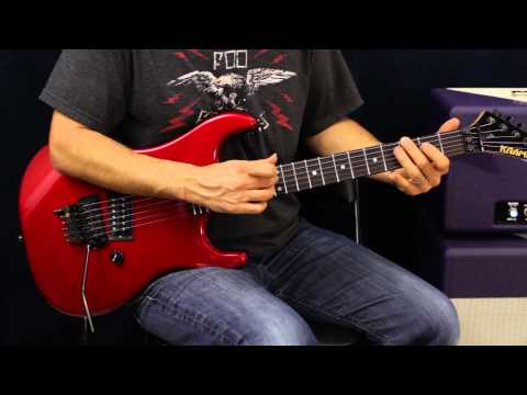 How To Play - Sammy Hagar - Heavy Metal - Guitar Lesson