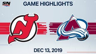 NHL Highlights   Devils vs Avalanche – Dec. 13, 2019 by Sportsnet Canada