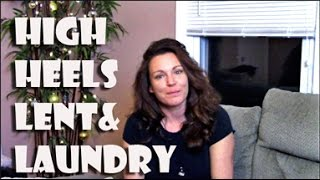 High Heels, Lent & Laundry || Gretchen's Bakery Vlog #3 by Gretchen's Bakery