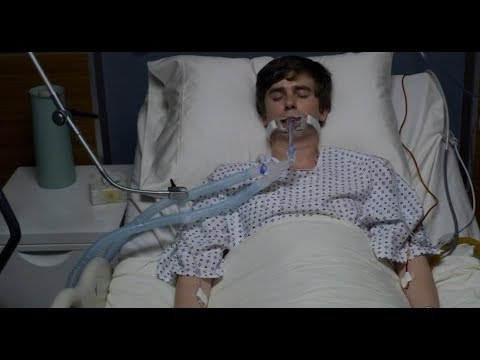"The Good Doctor 2x18 ""trampoline"" Season Finale Preview (with Slo-mo)"
