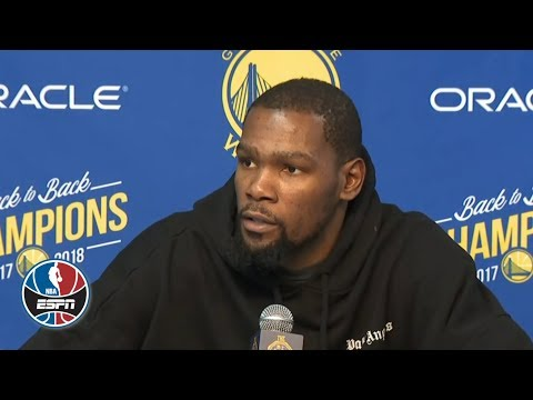 Video: Kevin Durant on passing Larry Bird, Steve Kerr on Warriors' win | NBA on ESPN